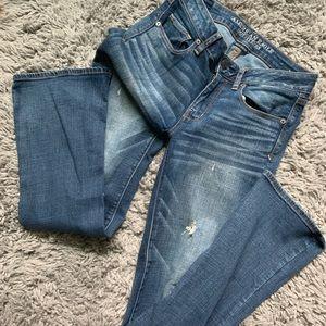 American Eagle Skinny Kick Jeans